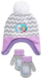 Frozen 2-Pc. Hat & Mittens Set, Toddler Girls