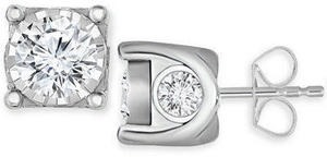 Diamond Stud Earrings (2 ct. t.w.) in 14k Gold or White Gold