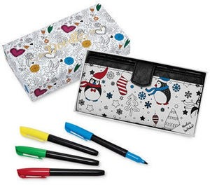 Doodlz Coloring Wallet