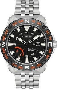 Eco-Drive Men's Stainless Steel Bracelet Watch 44mm