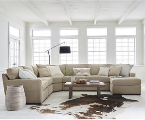 Radley Fabric Sectional Sofa Collection