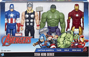 Marvel Titan Hero Series Avengers 4-Pack Marvel Titan Hero Series (4 Pack)