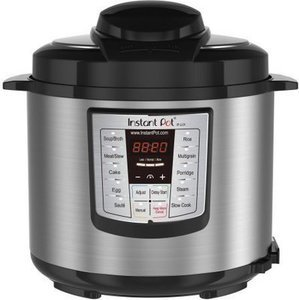 Instant Pot LUX60 V3 6 Qt 6-in-1 Muti-Use Programmable Pressure Cooker, Slow Cooker, Rice Cooker, Saut, Steamer, and Warmer