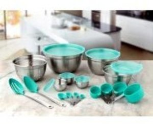 Better Homes and Gardens 23-Piece Gadget and Utensil Set, Teal