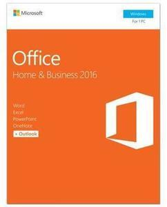 Microsoft Office Home and Business 2016 Product Key Card After Promo Code