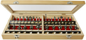 Skil 30-Piece Router Bit Set