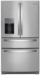 Whirlpool 26.2-cu ft 4-Door French Door Refrigerator with Single Ice Maker