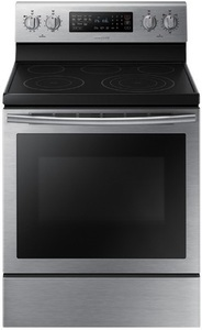 Samsung True Convection Smooth Surface Freestanding 5-Element 5.9-cu ft Self-Cleaning Convection Electric Range
