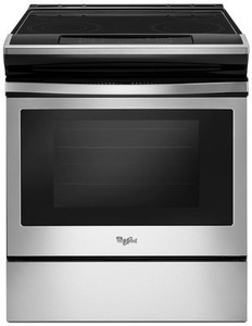Whirlpool Smooth Surface Self-cleaning Slide-In Electric Range