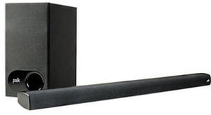 Polk Audio 2.1 Soundbar System with Wireless Subwoofer