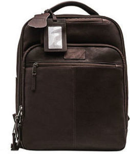 Renwick Genuine Leather Backpack