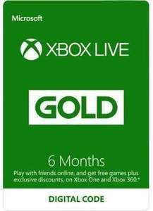 Xbox Live Gold Membership (Digital Code)