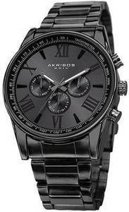 Akribos Men's Stainless Steel Watch