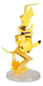 Pokemon Gallery Figure: Pikachu Thunderbolt by Pokemon Center