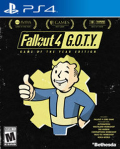 Fallout 4 Game of the Year Edition by Bethesda Softworks PS4