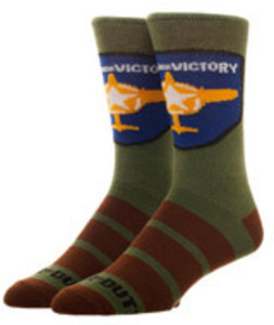 Call of Duty WWII Wings for Victory Socks