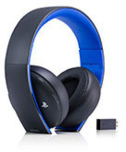 PlayStation Gold Wireless Headset by Sony Computer Entertainment