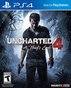 UNCHARTED 4: A Thief's End by Sony Computer Entertainment Pre-Owned (PS4)