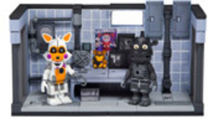 Friday Nights At Freddy's Sister Location Private Room Construction Set
