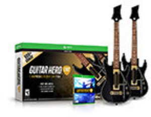 Guitar Hero Live Ultimate Party 2 Pack Bundle by Activision Guitar Hero Live Ultimate Party 2 Pack Bundle