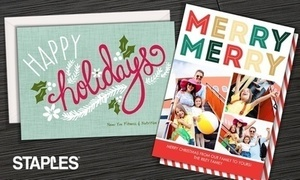 Holiday Cards & Invitations From Staples