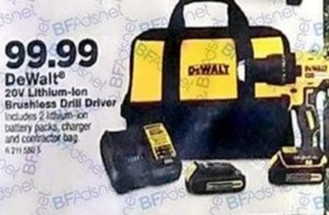 DeWalt 20V Lithium-Ion Brushless Drill Driver