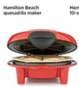 Hamilton Beach Quesadilla Maker (With Rebate)