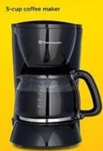 5-Cup Coffee Maker (After Rebate)