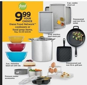 Food Network Cookware & Prep Products