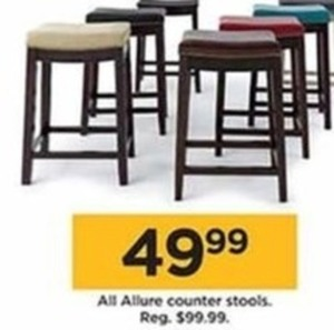 All Allure Counter Stools
