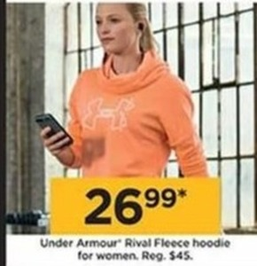 Under Armour Rival Fleece Hoodie For Women