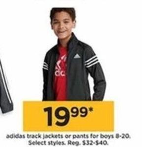 Boys' Adidas Track Pants