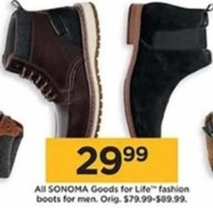 All Sonoma Goods for Life Fashion Boots for Men