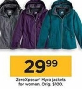 Zero Xposur Myra Jackets For Women