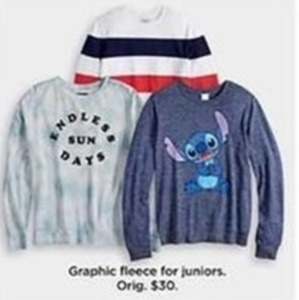 Graphic Fleece For Juniors