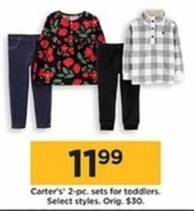 Carter's 2 Pc. Sets for Toddlers