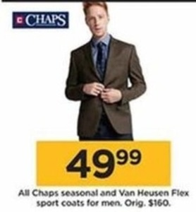 Chaps Seasonal and Van Heusen Flex Sport Coats for Men