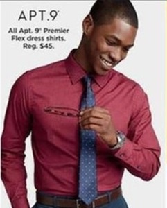 Apt. 9 Premier Flex Dress Shirts - Kohls Cash