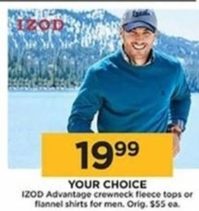 IZOD Advantage Flannel Shirts for Men - Kohls Cash