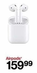 0a332f57b66 Apple Airpods - $159.99 at Target on Black Friday