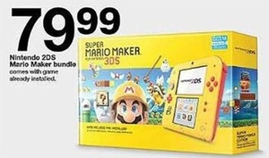 Nintendo 2 DS Mario Maker Bundle