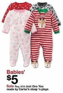 Kid's Onesies By Carter's Sleep 'N Play