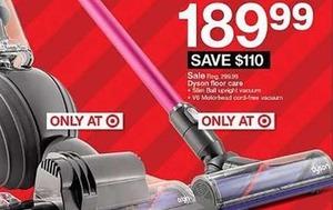 Dyson V6 Motorhead Cord-free Vacuum