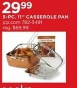 "5 pc 11"" Casserole Pan"