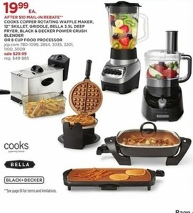 Cooks Copper Rotating Waffle Maker (After Rebate)