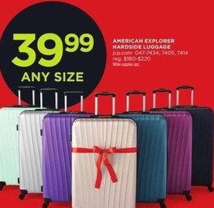 American Exploreer Hardside Luggage