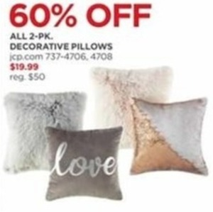 All 2-Pack Decorative Pillows