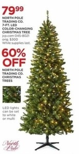 North Pole Trading Co. Christmas Trees