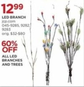All LED Branches & Trees