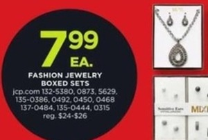 Fashion Jewelry Boxed Sets